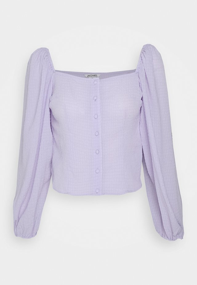 YLVA BLOUSE - Blus - lilac solid