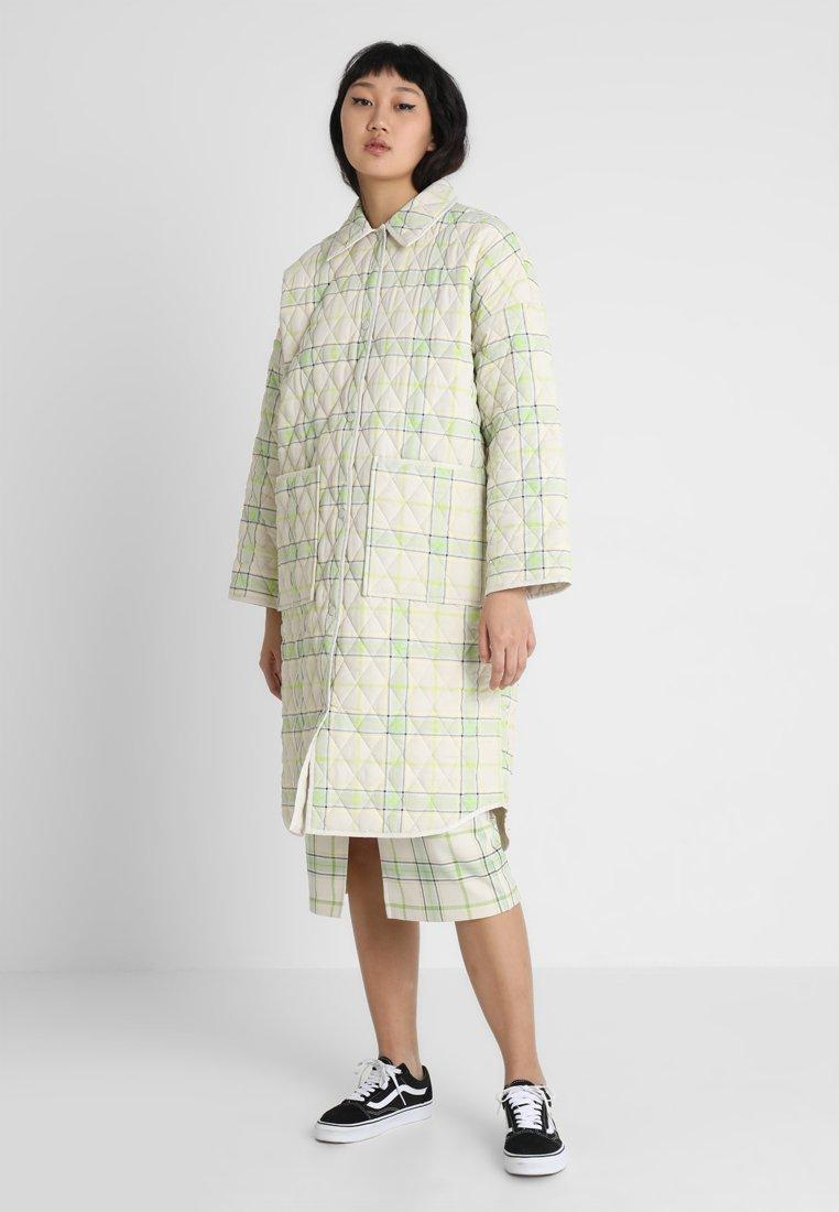 Monki - ELLA  - Classic coat - ecru