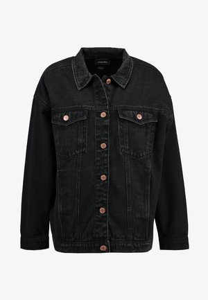 CATHY JACKET - Denim jacket - black
