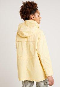 Monki - OLGA JACKET - Korte jassen - light yellow - 2