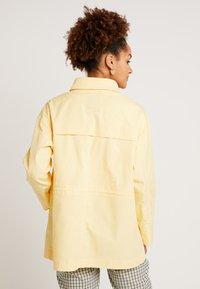Monki - OLGA JACKET - Korte jassen - light yellow - 3