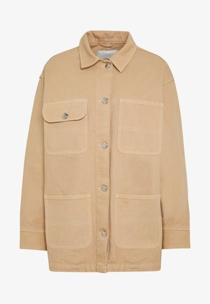 RONJA - Denim jacket - beige medium dusty