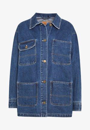 RONJA - Denim jacket - blue medium dusty