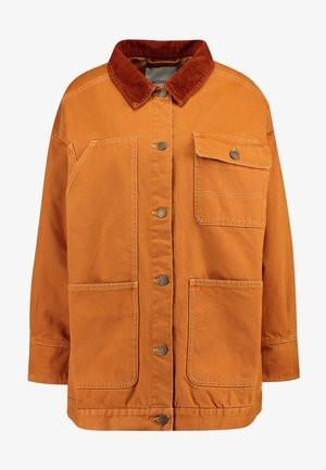 SARAH JACKET - Halflange jas - tobacco/dark brown