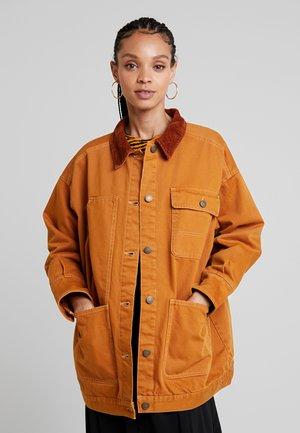 SARAH JACKET - Short coat - tobacco/dark brown