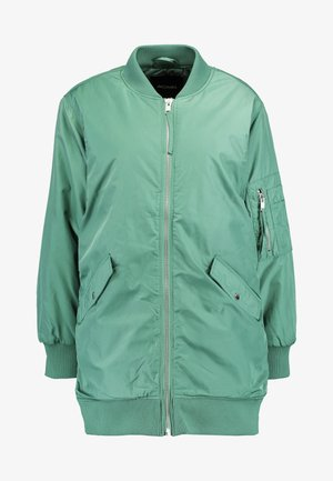 ELLEN - Bomber Jacket - green/dusty orange