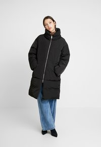 Monki - PIA - Winterjas - black dark - 0