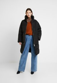 Monki - PIA - Winterjas - black dark - 1