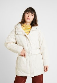 Monki - REMI - Cappotto invernale - white dusty light - 0