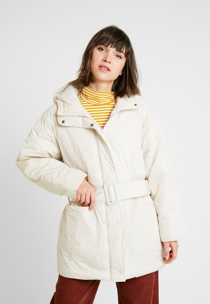 Monki - REMI - Cappotto invernale - white dusty light
