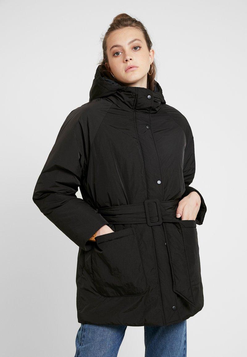 Monki - REMI - Cappotto invernale - black dark