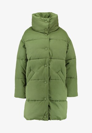 VICKAN - Winter coat - green dark