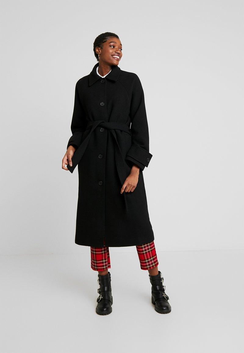 Monki - ARELIA COAT - Manteau classique - black dark