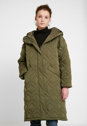 PAULA JACKET - Parkatakki - khaki green dark unique