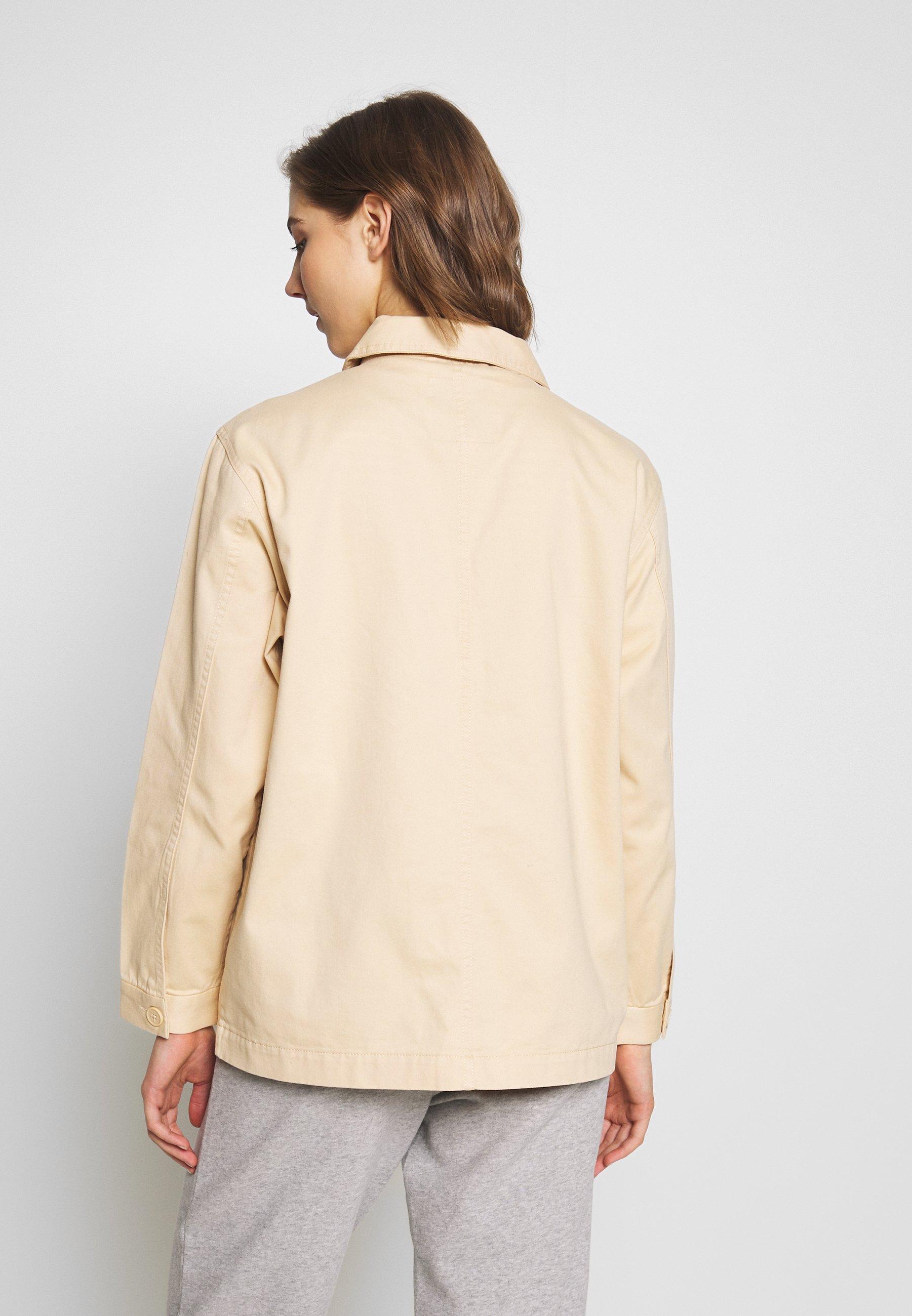Monki HANNA JACKET - Lett jakke - light beige