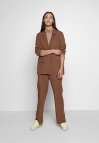 Monki - DANI - Blazer - brown dark - 1