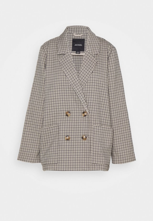 TWIGGY - Halflange jas - beige medium dusty