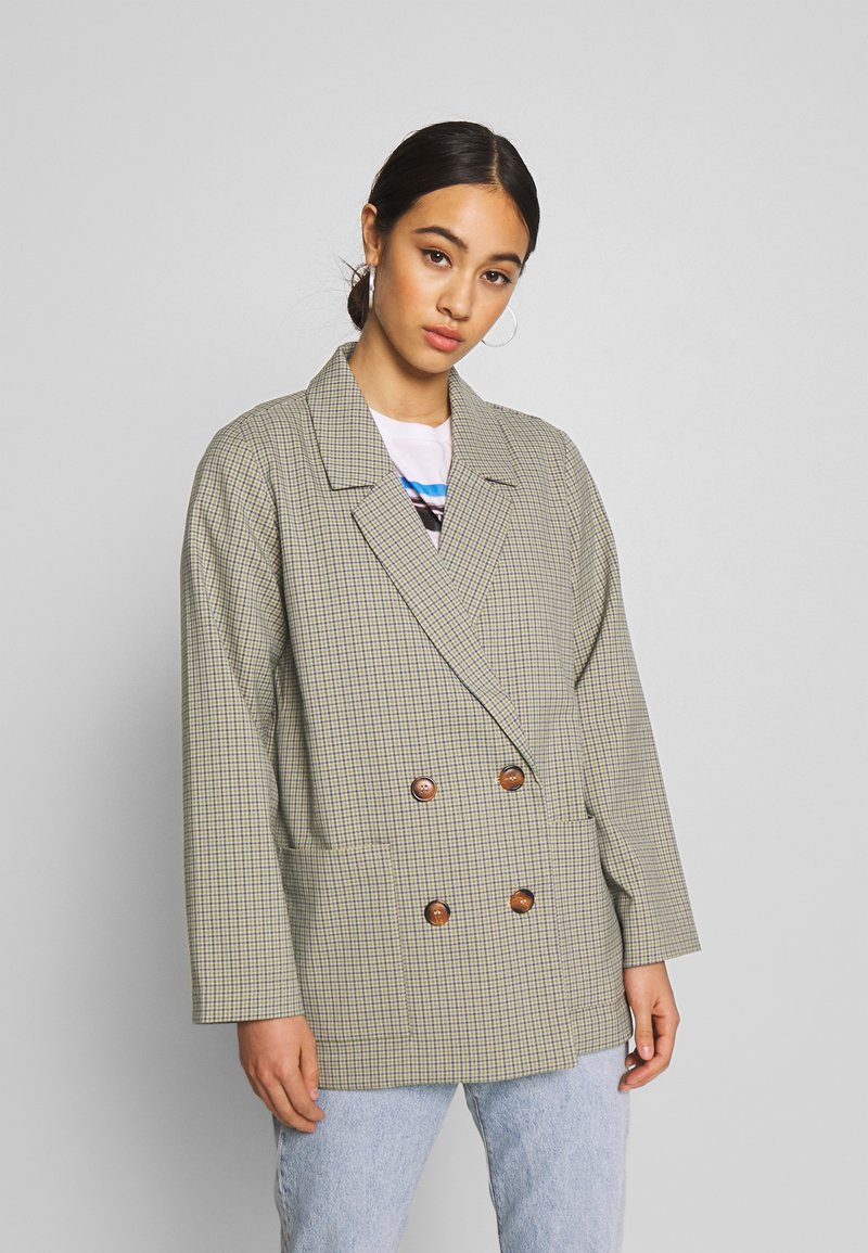 Monki - TWIGGY - Blazer - beige medium dusty