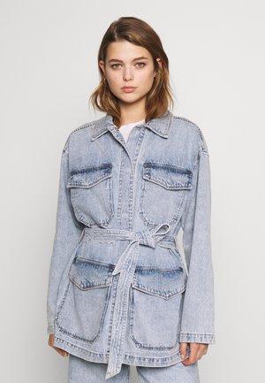 MAE JACKET - Veste en jean - blue medium/light blue