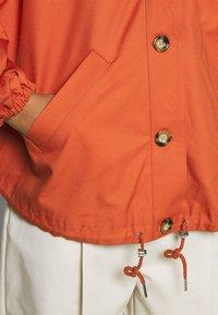 Monki - SIGNE JACKET - Lett jakke - orange - 4