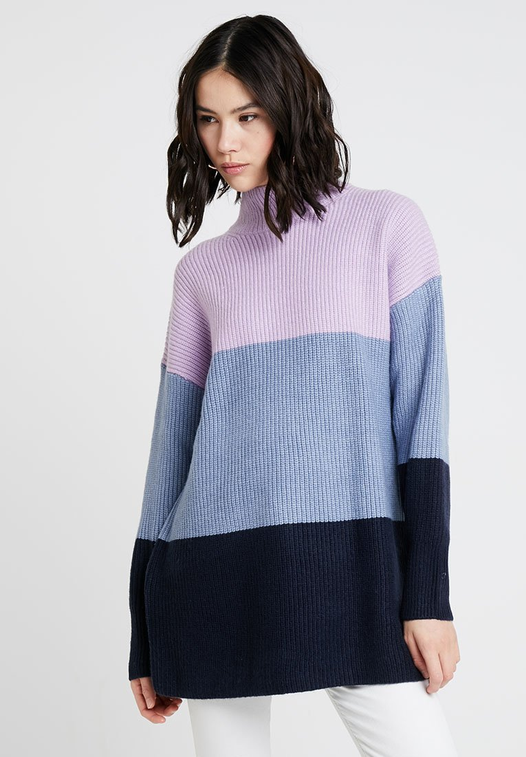 Monki - ALMA - Strickpullover - blue/lilac