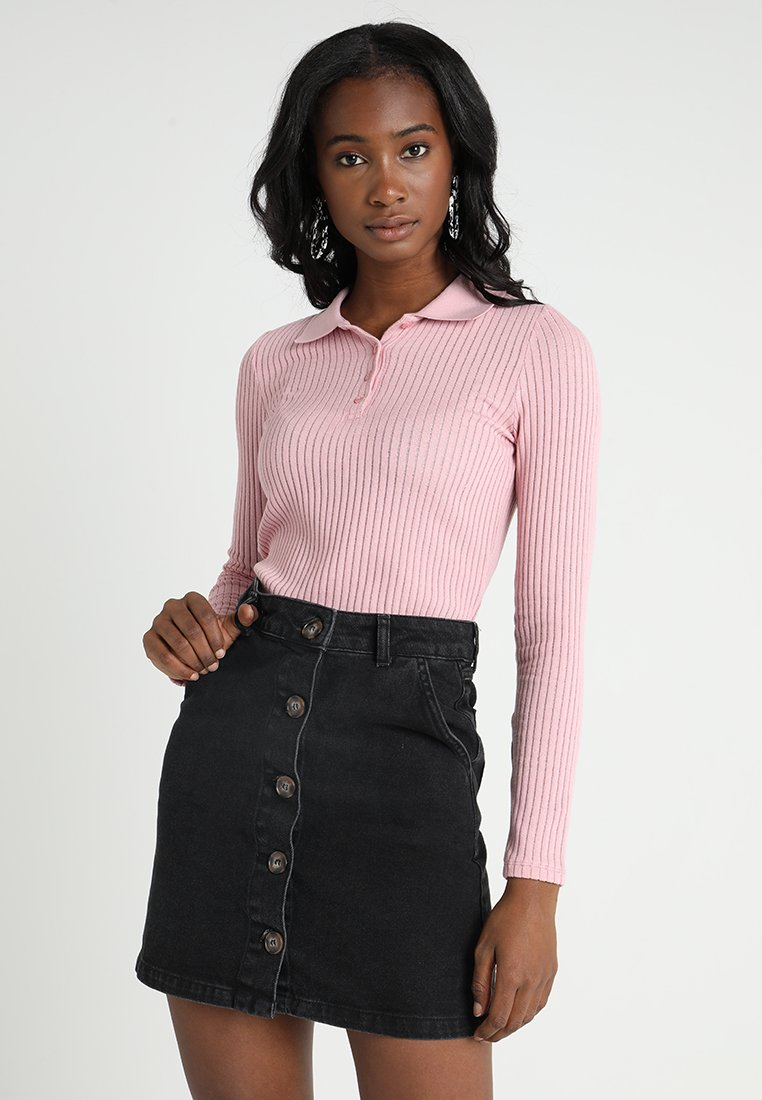 Monki - SIBYLLA - Strickpullover - pink solid