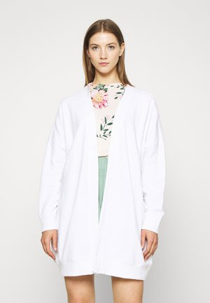 CAMILLA CARDIGAN - Mikina na zip - white light
