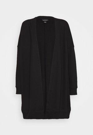 CAMILLA CARDIGAN - Zip-up hoodie - black dark