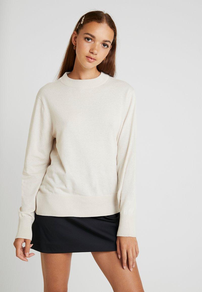 Monki - AMBIDEXTRA - Pullover - beige