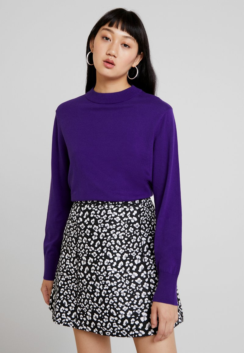 Monki - AMBIDEXTRA - Pullover - purple