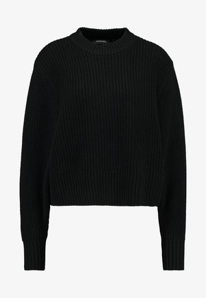 AGATA BASIC - Jumper - black dark