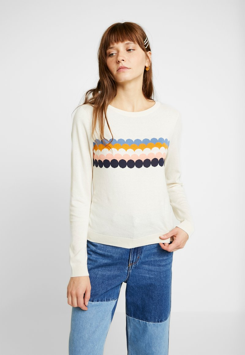 Monki - SOMIA - Jumper - white dusty