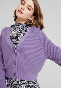 Monki - ZETA CARDIGAN - Kardigan - lilac purple medium - 3