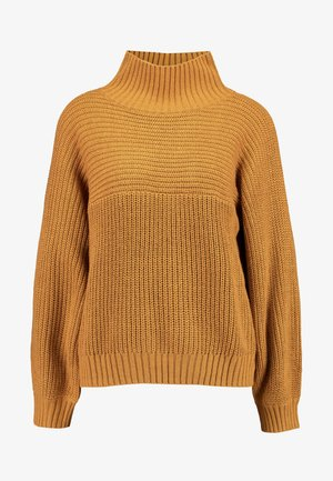 LIBBY - Stickad tröja - beige dark