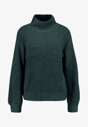 LIBBY - Stickad tröja - green