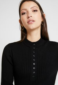 Monki - MAGDA - Trui - black dark - 4