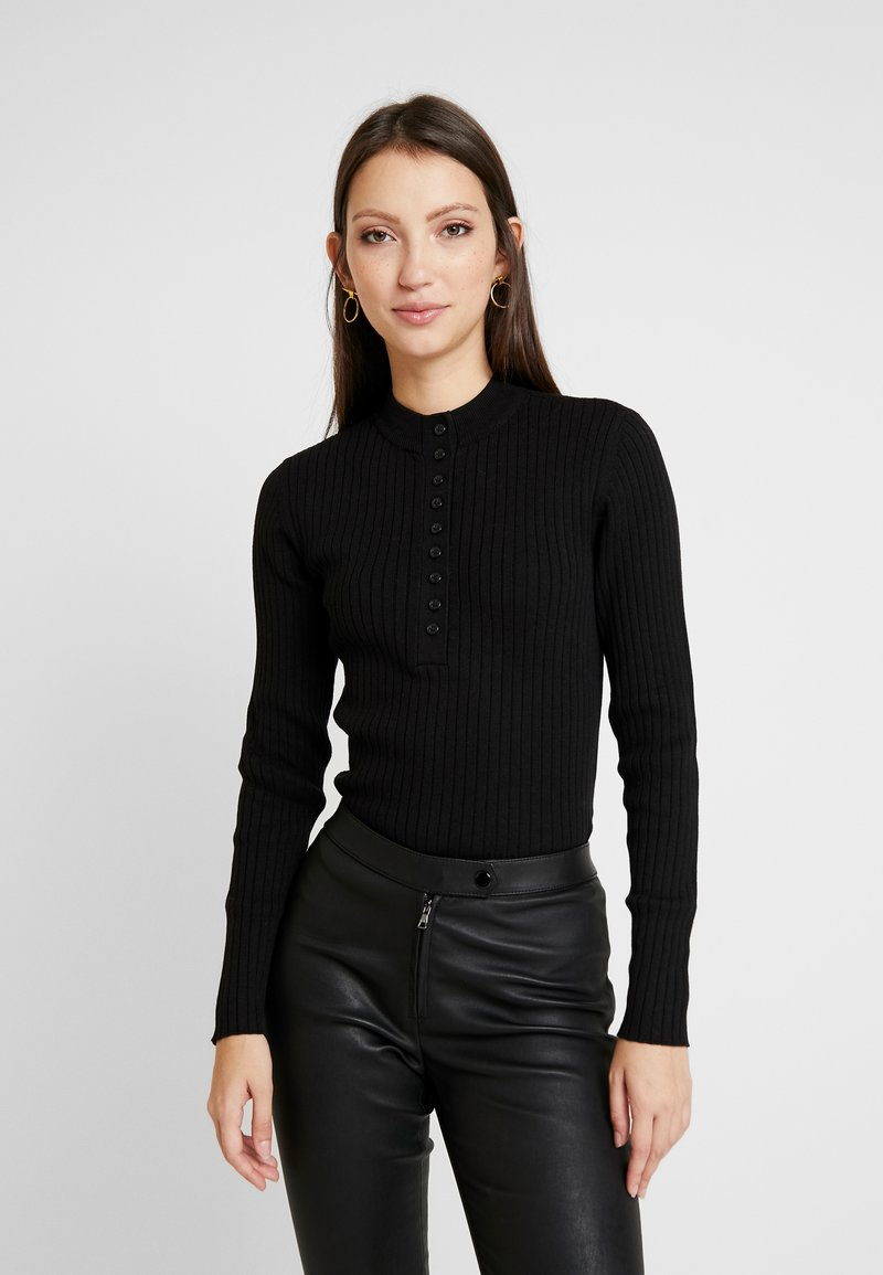 Monki - MAGDA - Pullover - black dark