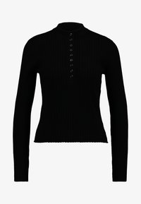 Monki - MAGDA - Pullover - black dark - 3