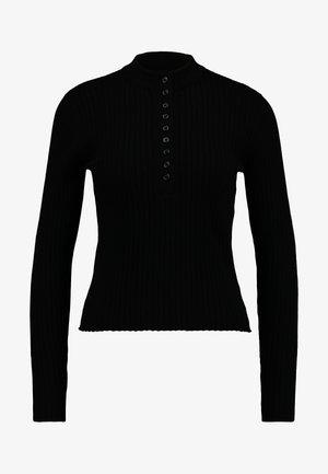 MAGDA - Strikpullover /Striktrøjer - black dark