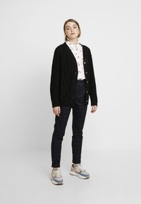Monki - MATTIS CARDIGAN - Gilet - black dark - 1