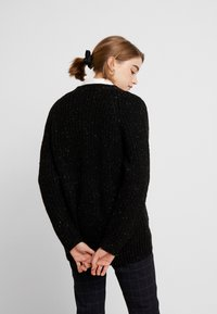 Monki - MATTIS CARDIGAN - Gilet - black dark - 2