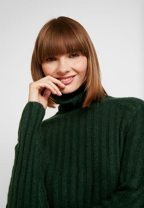 Monki TILDA - Sweter - green Odzież Damska UHWO-FS5 ekonomiczny