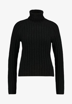 TILDA - Strikkegenser - black dark unique