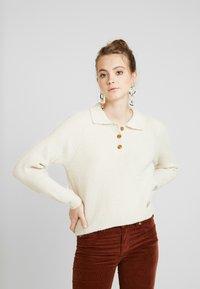 Monki - MARRE - Pullover - beige - 0