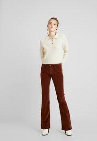 Monki - MARRE - Pullover - beige - 1