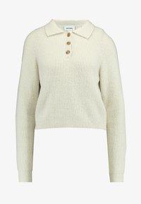 Monki - MARRE - Pullover - beige - 4