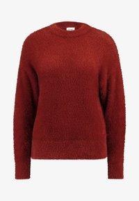 Monki - CHIBA - Stickad tröja - rost - 4