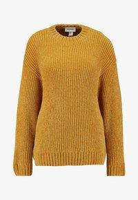 Monki - ELSA - Strikkegenser - mustard twisted yarn - 4
