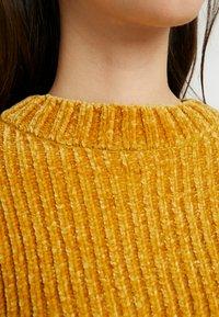 Monki - ELSA - Strikkegenser - mustard twisted yarn - 5