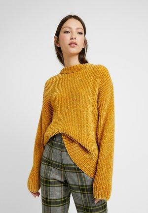 ELSA - Svetr - mustard twisted yarn
